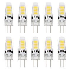 1W G4 2-pins LED-lampen T 6 SMD 5733 80 lm Warm wit / Koel wit Decoratief DC 12 V 10 stuks