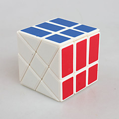 Yongjun® Cubes magiques 3*3*3 / Alien Vitesse Cube de vitesse lisse Blanc ABS Jouets
