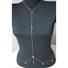 Γυναικεία Κοσμήματα Σώματος Αλυσίδα για την Κοιλιά Body Αλυσίδα / κοιλιά Αλυσίδα Φούντες Ευρωπαϊκό κοστούμι κοστουμιών Επιχρυσωμένο