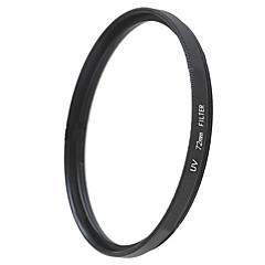emoblitz 72mm UV Ultrafialové krytka objektivu filtr černá