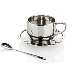 kahve taşınabilir paslanmaz çelik kupa seti