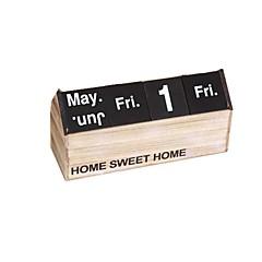 Personalized Wooden Calendar Desk Calendar