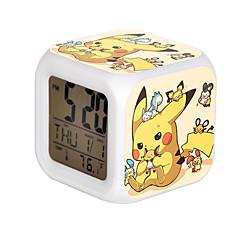 Ρολόι/Ρολόι χεριού Εμπνευσμένη από Pocket Monster PIKA PIKA Anime Αξεσουάρ για Στολές Ηρώων Ρολόι/Ρολόι χεριού Κίτρινο ΡητίνηΑνδρικά /