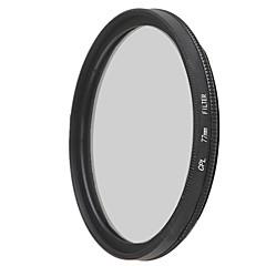 emoblitz 77 milímetros CPL lente filtro polarizador circular