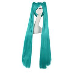 Szerepjáték Parókák Vocaloid Hatsune Miku Anime Szerepjáték parókák 120 CM Hőálló rost Férfi Nő