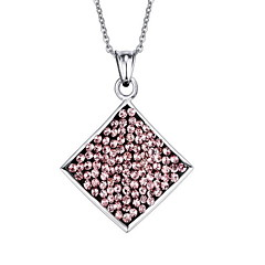 Necklace Pendant Necklaces / Pendants Jewelry Daily / Casual Fashion Stainless Steel Pink 1pc Gift