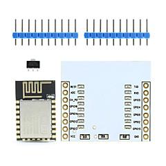 Landa Tianrui tm-ESP-12 esp8266 σειριακό ασύρματη μονάδα wifi w / κεραία PCB + συμβούλιο προσαρμογέα για Arduino / Raspberry Pi