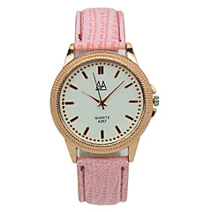 Women's Leather Strap Precise Time Student Campus Candy Color Pointer Casual Quartz Watches