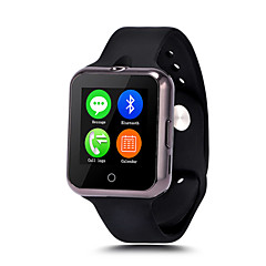 appareils portables montre intelligente support mtk6260 sim carte tf bluetooth lemfo de SmartWatch pour apple android