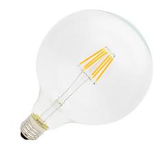 G125 6W E27 500LM 2700K 360 Degree LED Filament Light Edison Bulb(220-240V)