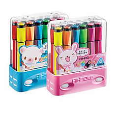 Children's Day'gift Authentic Wholesale Interested in 1881-12 Ribbon Seal Watercolor Pen Water Color Pen Non-toxic