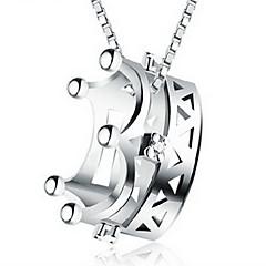 Damskie Łańcuszki na szyję Breloczki Crown Shape Stop Modny Biżuteria Na Codzienny Casual