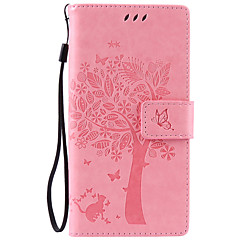 Πλήρης Σώμα Βάση Καρτών / Στρας / με Stand Culori solide Συνθετικό δέρμα Moale Card Holder Case Cover για το SonySony Xperia XA / Sony