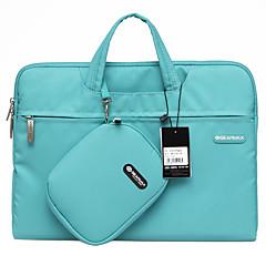 13inch 방수 휴대용 노트북 케이스 / 가방 단색 블루 / 그린 / 핑크 / 회색 gearmax®