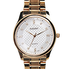 Men's Fashion Diamond Water Watch