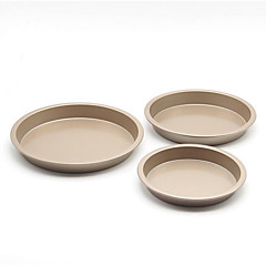 Brand 6-Inch Round Cake Pan Pizza Pie Bread Baking Mold Non-Stick Coating Imported High-Grade Gold