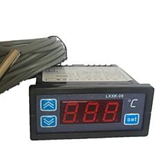 sulautettujen lämpötilansäädin (lämpötila-alue -50 ~ 50 ° C, ac-220v)