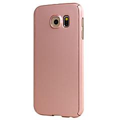 Varten Samsung Galaxy S7 Edge Other Etui Kokonaan peittävä Etui Yksivärinen Kova PC Samsung S7 edge / S7 / S6 edge / S6