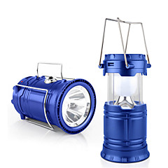 Jiawen Outdoor Tent Retractable USB Solar Camping Lamp LED Lantern Light for Hiking Emergencies