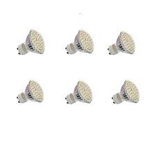 5W GU10 LEDスポットライト 埋込み式 60 SMD 3528 300LM lm 温白色 / クールホワイト 装飾用 交流220から240 / DC 12 V 6個
