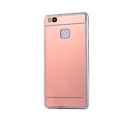 For Huawei etui P9 P9 Lite P8 Lite Belægning Spejl Etui Bagcover Etui Helfarve Hårdt Akryl for HuaweiHuawei P9 Huawei P9 Lite Huawei P8