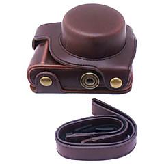 파나소닉 gf8의 12-32mm 렌즈 (모듬 색상)에 대한 dengpin® PU 가죽 카메라 케이스 가방 커버