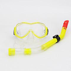 Búvárkodás Maszkok Felszíni búvárkodás csomagok Snorkels Snorkel felszerelés Páramentesítő Állítható Búvárkodás és felszíni búvárkodás