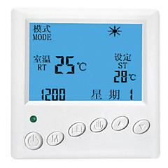 bianco termostato aria condizionata per riscaldare il termostato