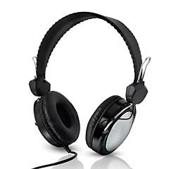 Kubite T-420 3.5mm Headband Earphones Noise isolating Earbud for MP3 MP4 Cellphone