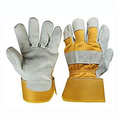 guanti speciali in pelle di protezione saldatore lavoro anti-scottatura (un formato)