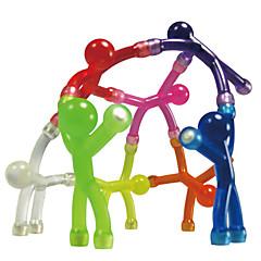 צעצועים מגנטיים 10Pcs צעצועים מגנטיים צעצועי הנהלה קוביית פאזל צעצועי DIY כדורים מגנטיים כסוף / שנהב / חום / לבן / צהוב / לדעוך שחור
