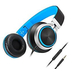 Kanen C8 Słuchawki (z pałąkie na głowę)ForOdtwarzacz multimedialny / tablet / Telefon komórkowy / KomputerWithz mikrofonem / Regulacja