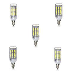 20W E14 LED a pannocchia T 69 SMD 5730 1980LM lm Bianco caldo / Luce fredda Decorativo AC 220-240 V 5 pezzi