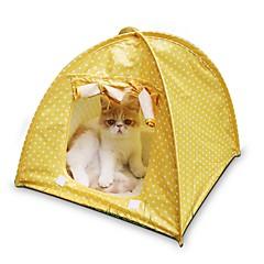 ネコ ベッド ペット用 マット/パッド テント / カジュアル/普段着 グリーン / ピンク / イエロー テリレン