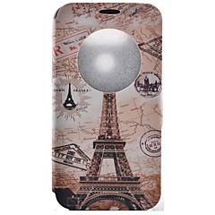 Varten LG kotelo Korttikotelo / Tuella / Ikkunalla / Flip / Kuvio Etui Kokonaan peittävä Etui Eiffelin torni Kova Tekonahka LGLG G5 / LG
