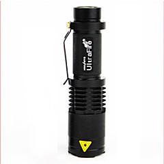 Pyöräilyvalot,Pyöräilyvalot-1 Tila 100 Lumenia Helppo Carry Muux1 USB / Akku Pyöräily/Pyörä Musta Pyörä Other T6