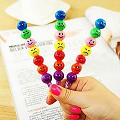 어린이를위한 m161 미소 설탕에 절인 과일 컬러 펜 사랑스러운 만화 HB 연필 문구 학교 용품