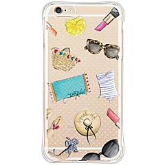 Mert iPhone 6 tok / iPhone 6 Plus tok Vízálló / Ütésálló / Porálló / Átlátszó Case Hátlap Case Other Puha TPU AppleiPhone 6s Plus/6 Plus