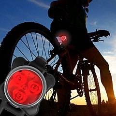 Fietsverlichting Koplamp fiets Achterlicht fiets LED - Wielrennen Gemakkelijk draagbaar Waarschuwing C-cel 40 Lumens USBDagelijks gebruik