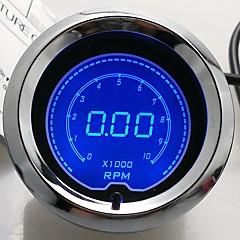 """2 """"(52 mm) lcd digital 7 farvedisplay omdrejningstæller rpm gauge / auto gauge"""