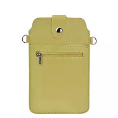 Mert Huawei tok / P9 / P9 Lite / P8 / P8 Lite / Honor 8 / Mate 8 Pénztárca / Kártyatartó Case Teljes védelem Case Egyszínű Puha Műbőr