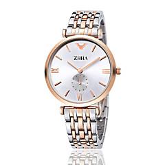 ZHHA Women's Men's Watch high quality super thin quartz couple watches Fashion Dress Watch Wrist Watch