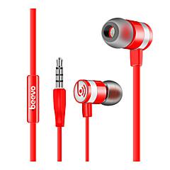 Beevo EM210 FülhallgatókForMédialejátszó/tablet / Mobiltelefon / SzámítógépWithMikrofonnal / DJ / Hangerő szabályozás / Játszás / Sport /