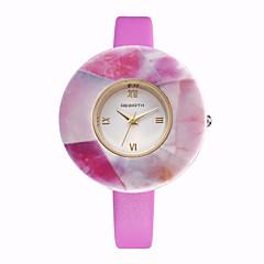 Damen Modeuhr / Armbanduhr Quartz / PU Band Bequem Weiß / Blau / Rosa / Lila / Beige / Rose Marke