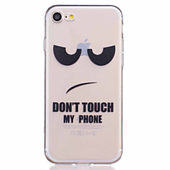 Painted  Eyes Pattern Embossed TPU Material Phone Case for  iPhone 7 7 Plus 6s 6 Plus SE 5s 5