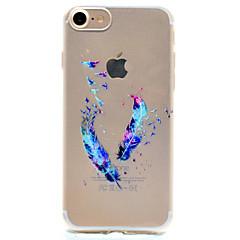 Na Etui iPhone 7 / Etui iPhone 6 / Etui iPhone 5 Wzór Kılıf Etui na tył Kılıf Pióro Miękkie TPU AppleiPhone 7 Plus / iPhone 7 / iPhone 6s