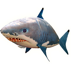 Radio Control Inflable Shark Cool Creativo Juguetes Novedosos Azul Nailon