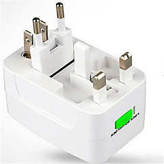En USB-port EU Plug / UK Plug / US Plug / AU Plug Hjem Lader / Portable lader Bare Laderfor iPad / for Mobiltelefon / For andre Pad / For