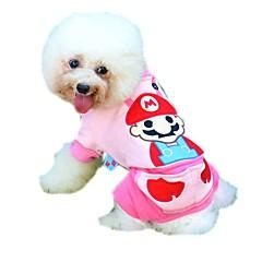 Γάτες / Σκυλιά Παλτά / Φόρμες / Παντελόνια Μπλε / Ροζ Ρούχα για σκύλους Χειμώνας / Άνοιξη/Χειμώνας ΧαρακτήρεςΓιορτή / Μοντέρνα /