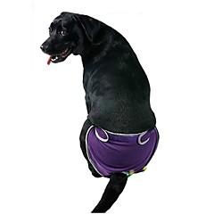 Perros Pantalones Azul / Morado / Negro / Rosado Ropa para Perro Verano / Primavera/Otoño Un Color Casual/Diario